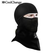 Coolchange Winter Cycling Face Mask Cap Ski Bike Thermal Fleece Snowboard Shield Hat Cold Headwear Bicycle
