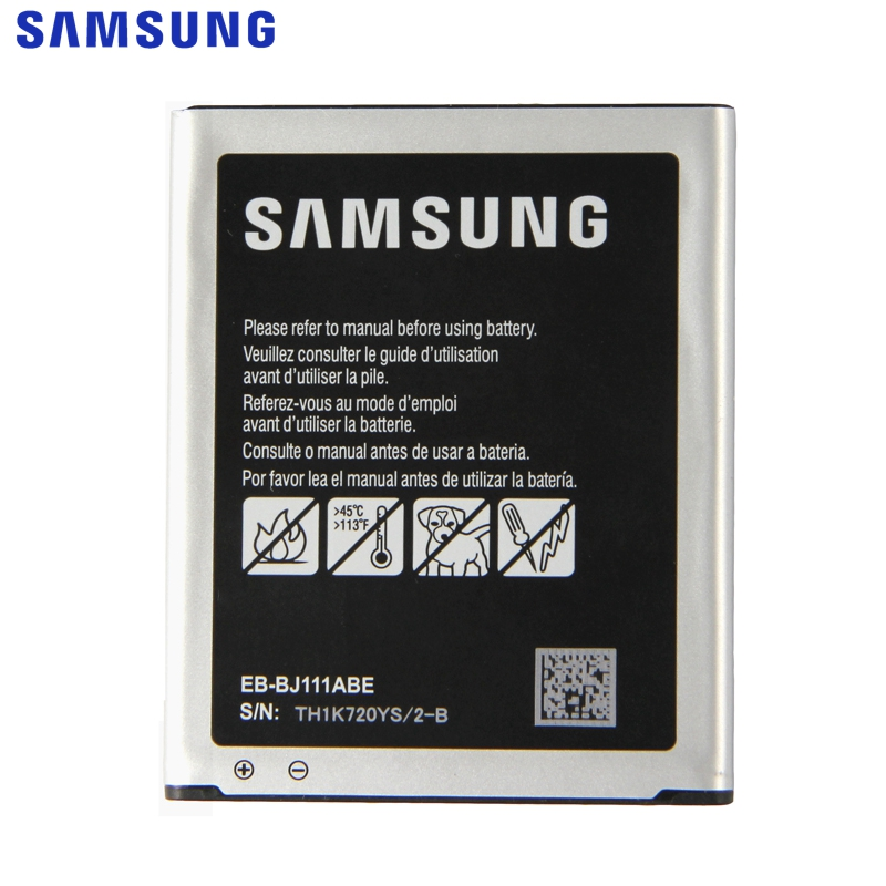 <font><b>Samsung</b></font> Original EB-BJ111ABE <font><b>Battery</b></font> For <font><b>Samsung</b></font> Galaxy <font><b>J1</b></font> J <font><b>Ace</b></font> J110 J110F J110H J110FM 4G version Replacement <font><b>Battery</b></font> 1800mAh image