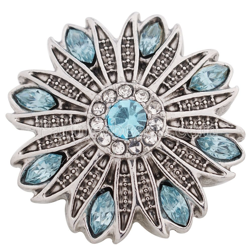 Partnerbeads new fashion snap button 8colors OEM ODM 18 20mm snaps jewelry fit snap bracelets font