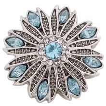 Partnerbeads new fashion snap button 8colors OEM ODM 18 20mm snaps jewelry fit snap bracelets necklace