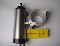 CNC milling spindle ER16 1.5KW water cooling spindle+10piece ER16 collets+1 piece spindle support