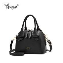 YBYT Fashion Luxury Handbags Women Bags Designer Large Capasity PU Leather Bag for Simple Shoulder crossbody Shell