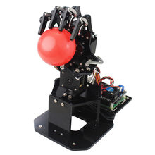 LOBOT uHand2.0 Raspberry 3B+ Programmable Face Color Image Recognition PC/Stick Control RC Robot Arm & 480P Camera(China)