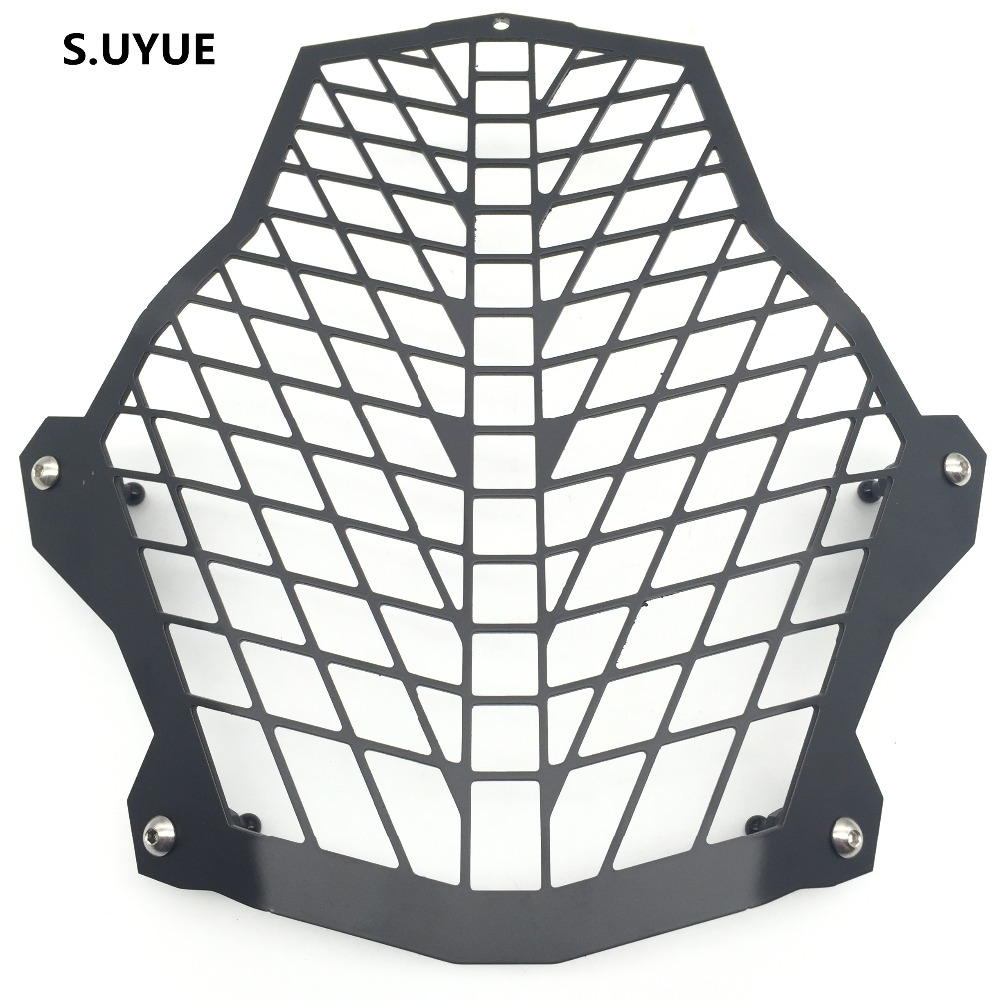 S.UYUE For KTM 1190R Headlight Guard 1290 Super Adventure / 1190 Adventure Front Lamp Protector Cover Stainless Steel for ktm excr