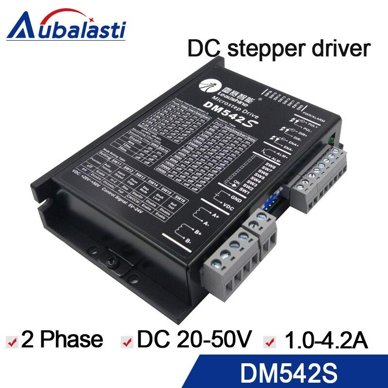 2 phase schrittmotor fahrer leadshine DM542S VDC20-50V motor fahrer stepper fahrer verwenden für cnc stecher und schneiden maschine