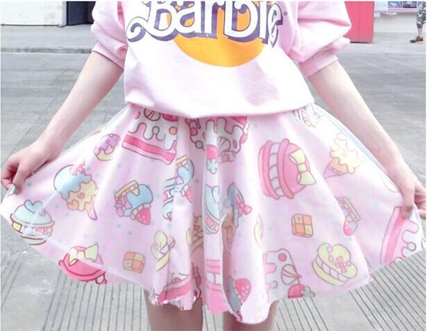 Soft sister lolita short skirts womens