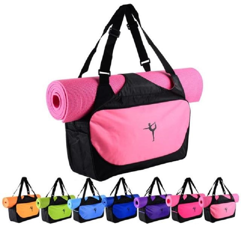 Hot Multifunctional Yoga Bag Gym Mat Backpack Waterproof Pilates Case Carriers Not Including In Mats From Sports