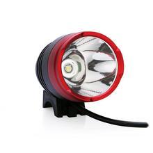 DC/USB Input 2000 Lumens CREE XM-L T6 LED Bike Bicycle Cycling Light Headlight Headlamp T6 Flashlight With O-ring Holder