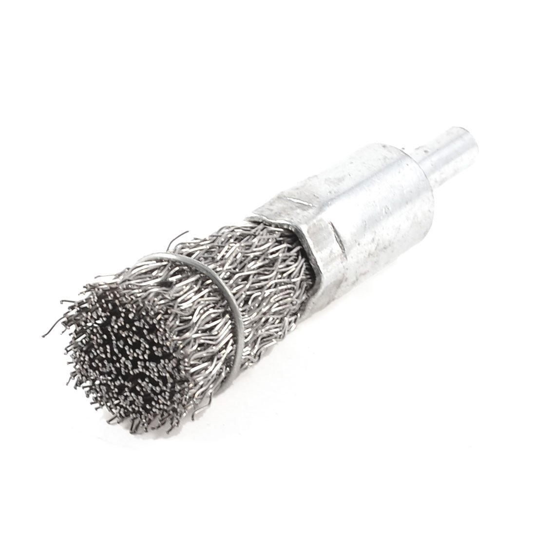 Silver Tone 16mm Diameter Steel Wire Polishing Grinding Brushes-in ...