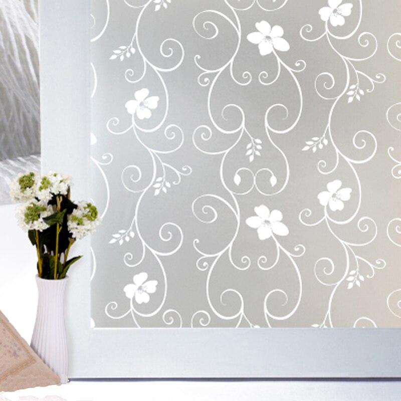 45x400 cm autoadesiva scrub soggiorno bagno porta in vetro decorativo adesivi per porte pellicolachina