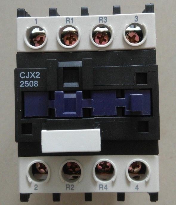 Free Shipping CJX2-2508 AC contactor 220V/50Hz 25A for generator ATS new lp2k series contactor lp2k06015 lp2k06015md lp2 k06015md 220v dc