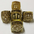 5pcs/set 1981 1984 1988 1989 1994 San Francisco 49ers world series championship rings replica size 8 to 14 drop shipping
