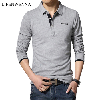חולצה שרוול ארוך גברים פולו