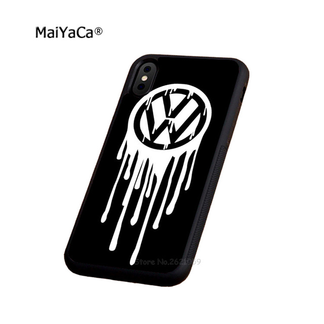 Us 4 49 10 Off Cute Car Logos Bus Soft Edge Phone Case For Iphone 5s Se 6 6s Plus 7 7plus 8 8plus X Xr Xs Max Black Silicone Cover Case In