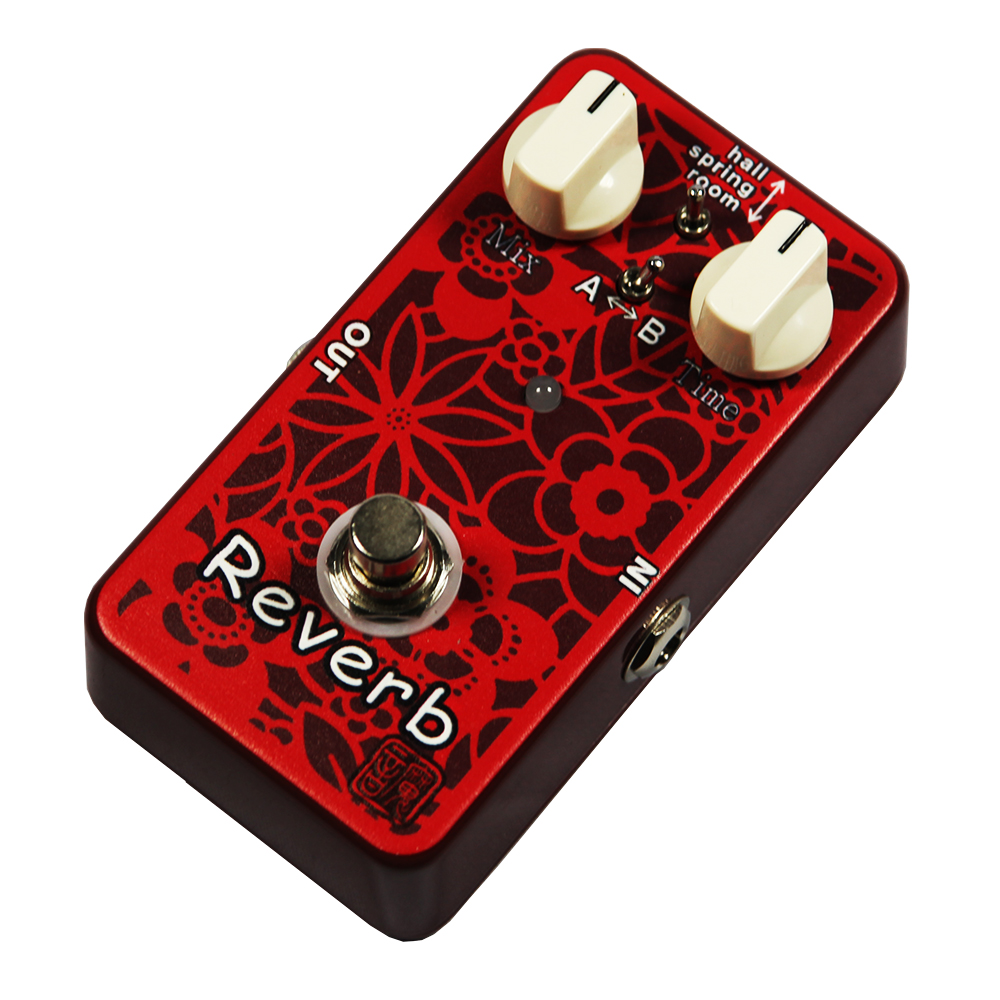 Moen Reverb Electric Guitar Effects Effect Pedal AC-RV True Bypass mooer wood verb reverb digital effects acoustic guitar effect pedal tiny size true bypass mrv3