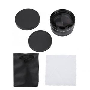 Image 5 - 2X 58mm Telephoto Lens High Definition Camera Telephoto Lens Optics Teleconverter For Cameras Accessories