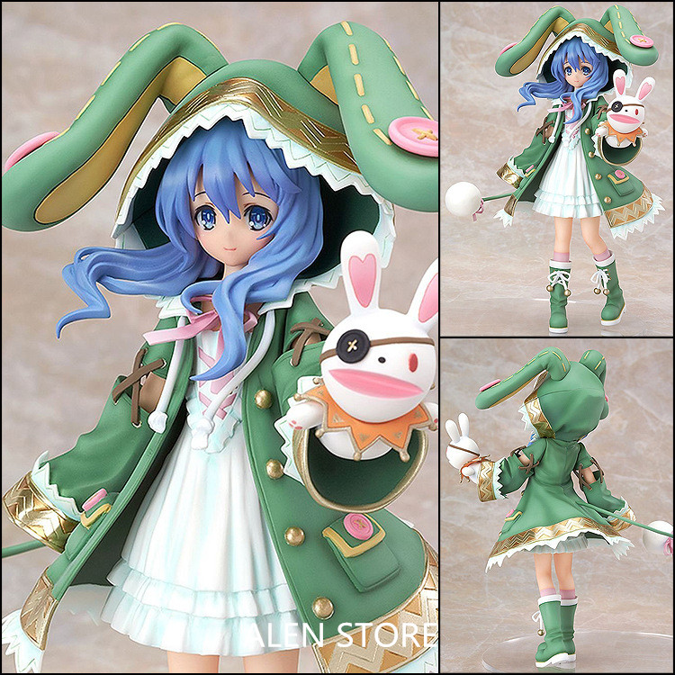 ALEN Japan Anime Figure Date A Live Yoshino Figurine Brinquedos PVC Action Figure Juguetes Collectible Model Doll Kids Toys 18cm new naruto shippuden orochimaru pvc action figure collectible model toy 13cm doll brinquedos juguetes hot sale freeshipping