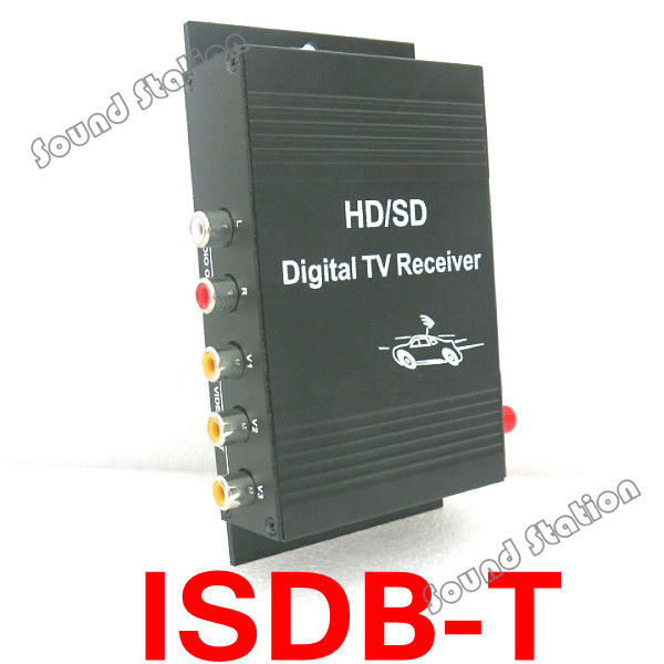 Mobile Car Isdb-t Isdbt Isdb T Digital Tv Receiver Box One Seg With Remote Control For Brazil Peru Argentina Chile South America