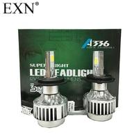 2Pcs High Quality COB LED Headlight H4 Hi Lo Auto LED Headlight Bulb H4 Head Lamp