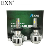 2Pcs High Quality COB LED Headlight H4 Hi Lo Auto LED Headlight Bulb H4 Head Lamp