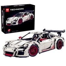 НА СКЛАДЕ ЛЕПИН 20001B 2758 Шт. Новая Техника Серии Classic 911 GT3 R3 Гоночный Автомобиль 42056 Обучающие Строительного Кирпича Блоки Мальчики подарок