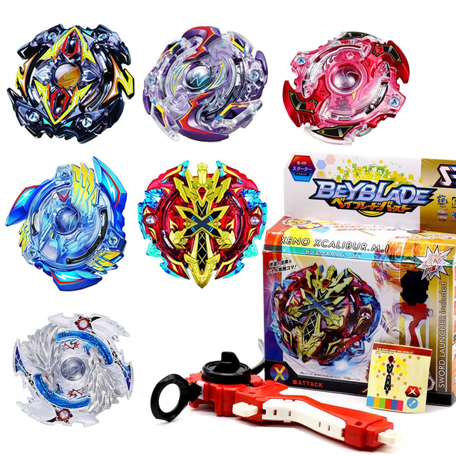 Beyblade Burst Original Box Battle Spinning Tops Set Beyblade Kids