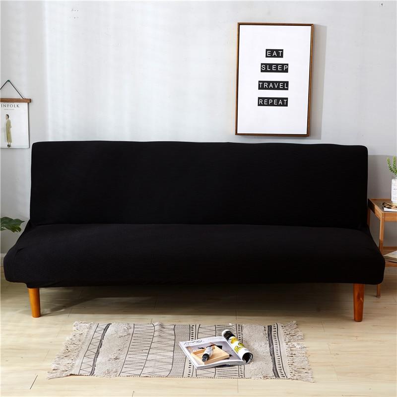 Knit Dark Black Color Universal Anti Dirty Black Armless