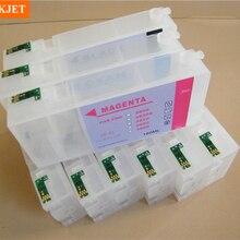 Перезаправляемый картридж с Перманентных чип для Epson 3800 3880 3850 3885 3890 принтер 160 мл./шт