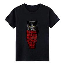 behemoth the ca t master and margarita t shirt personalized Short Sleeve O-Neck gents Anti-Wrinkle Summer Style shirt tikhonova margarita o poetike aleksandra sokurova