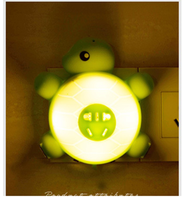 Novelty Lighting Creative led night light control Turtle Night intelligent bedside lamp new exotic decorative lights WGD-01