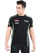 NEW 2017  Kawasaki Motocard Team Race Wear Black/Green T shirt