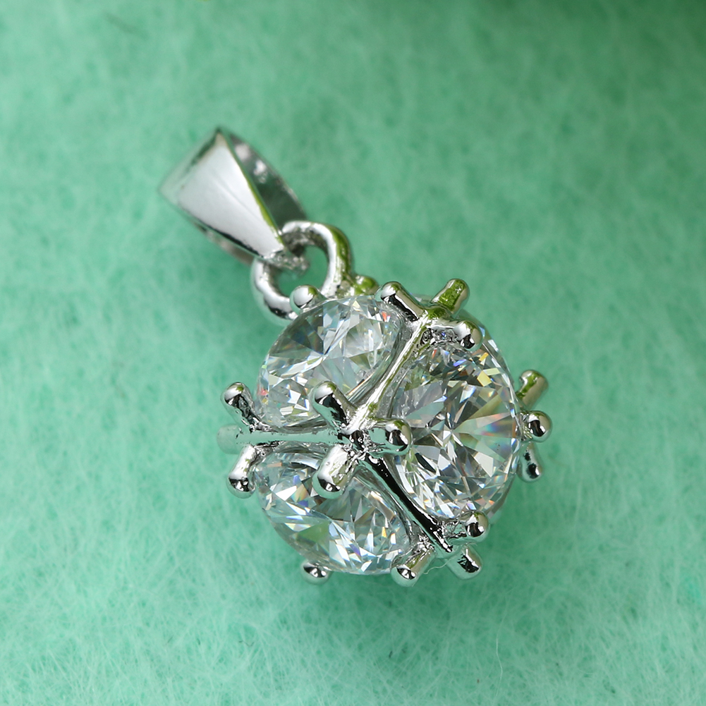 Silver Color South Korean Fashion Hot Christmas Three-dimensional Shinning Ball Jewelry  ...