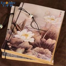 Новый notebbok Винтаж цветок ежедневник блокнот Diy Аксессуары в комплекте Творческий свежие подарки канцелярский блокнот N288