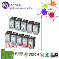 Free Shipping 8pk PG 40 PG40 Ink Cartridge For Canon PIXMA IP2500 IP2600 MX300 MX310 MP160