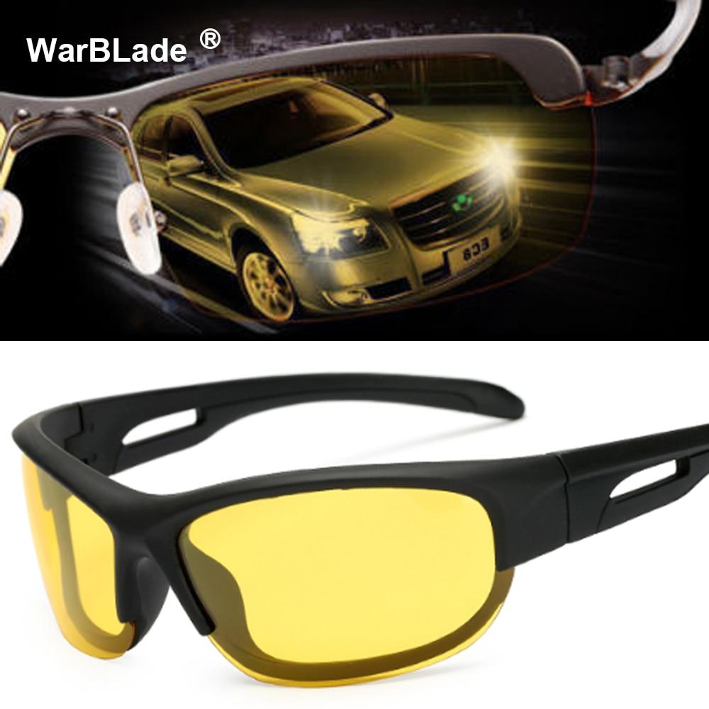 2018 Hot Sale Car Drivers Night Vision Goggles Anti-glare Polarizer Sunglasses Men Driving Sun Glasses Male Accessories