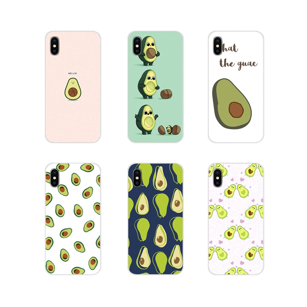 Accessories Phone Cases Covers Cute Avocado Food Pattern For Samsung Galaxy A3 A5 A7 A9 A8 Star A6 Plus 2018 2015 2016 2017