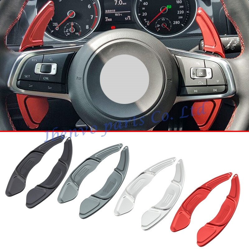Car Styling Steering Wheel Gear Extension Paddle Shifter For 2015-17 Volkswagan Golf7 R/GTI/R-Line Polo GTI Scirocco Accessories