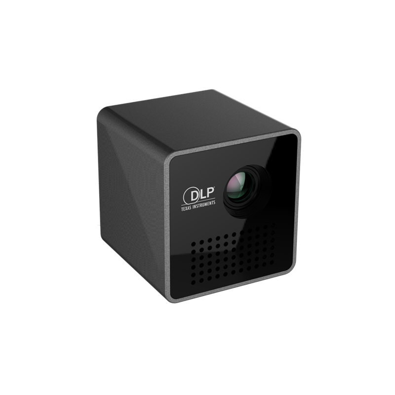 Oryginalny projektor UNIC P1 kieszonkowy domowy projektor filmowy Proyector Beamer bateria Mini projektor DLP P1 mini projektor led