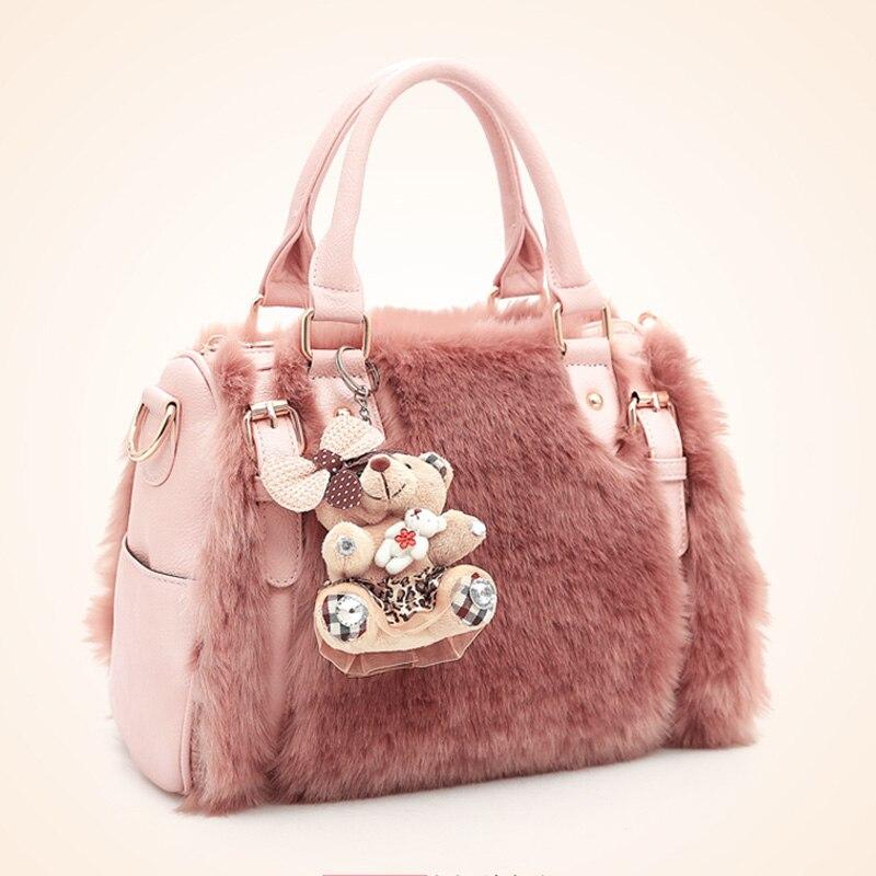 Меховые женские сумки - brand-mskru
