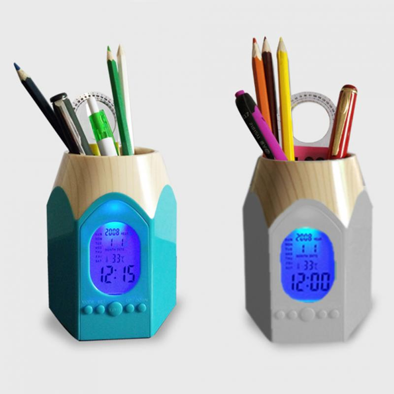 Desk Mesh Pen Pencil Holder Office Supplies Multifunctional Digital Led Pens Storage High Safety Office & School Supplies Desk Accessories & Organizer
