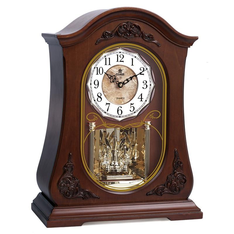 Чисто нов висок клас дървен часовник - Декор за дома - Снимка 1