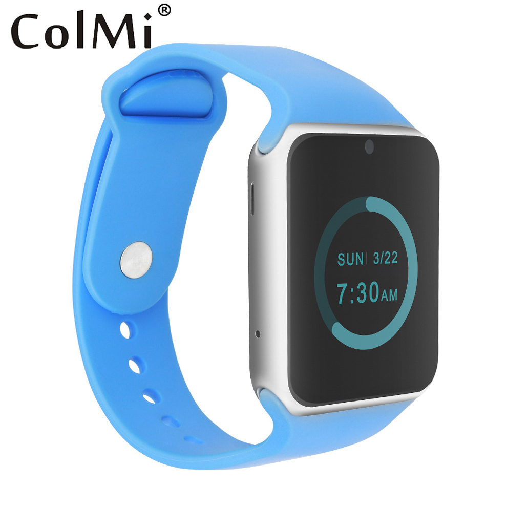 ColMi Montre Smart Watch VS20 APPAREIL SIM Carte TF Carte Podomètre Sommeil Tracker Bluetooth Connect Android IOS Téléphone Push APP Message Smartwatch