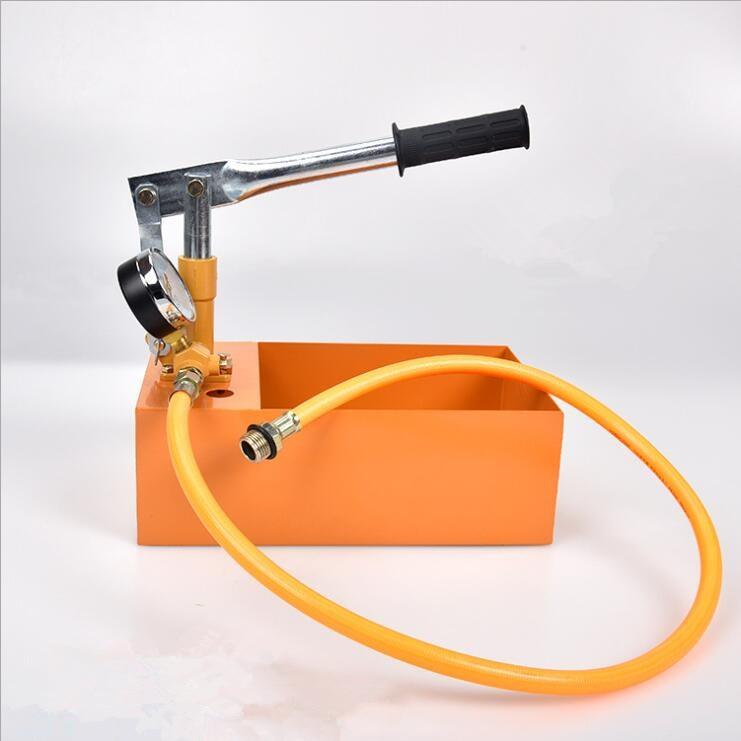 Manual PE PPR Water Pipe Pressure Test Pump 25kg 2 5Mpa