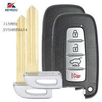 Keyecu Replacement Remote Key Fob 315MHz ID46 for Hyundai Kia 2011 2013 SY5HMFNA04