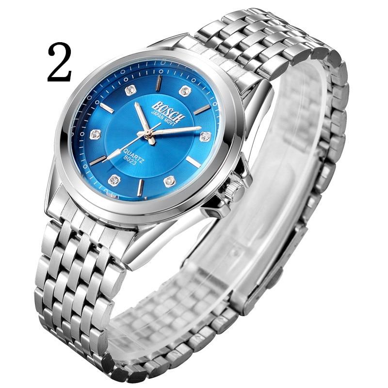 лучшая цена Men's watch automatic mechanical watch waterproof luminous casual steel with quartz watch sports men's watch