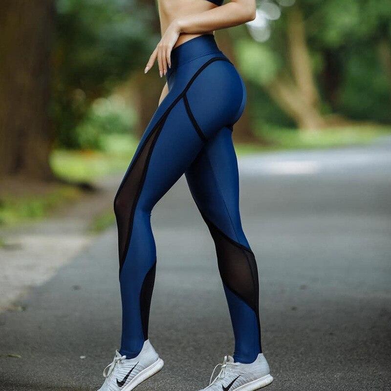 799.22руб. 46% СКИДКА|Женские спортивные Леггинсы с высокой талией LAISIYI, леггинсы с эффектом пуш ап для фитнеса|Легинсы| |  - AliExpress