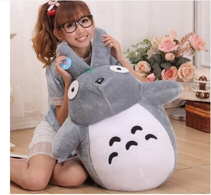 Figurine japon anime 75 cm Totoro peluche énorme coussin poupée totoro w3874