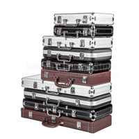 200/300/500PCS Capacity Poker Chips Case Container Poker Chips Briefcase Storage Box Poker Chips Suitcase