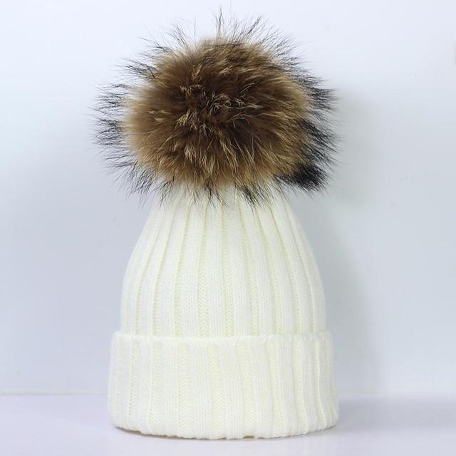 Winter Brand Female Ball Cap Pom Poms Winter Hat For Women Girl 'S Hat Knitted Beanies Cap Hat Thick Women Skullies Beanies