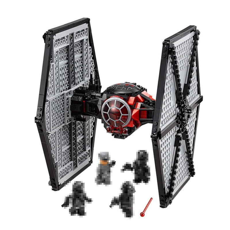 Lepin Stars Series War 05005 Special Forces Fighter Model Building Blocks Bricks Diy Educational Toys For Children 75101 Gifts